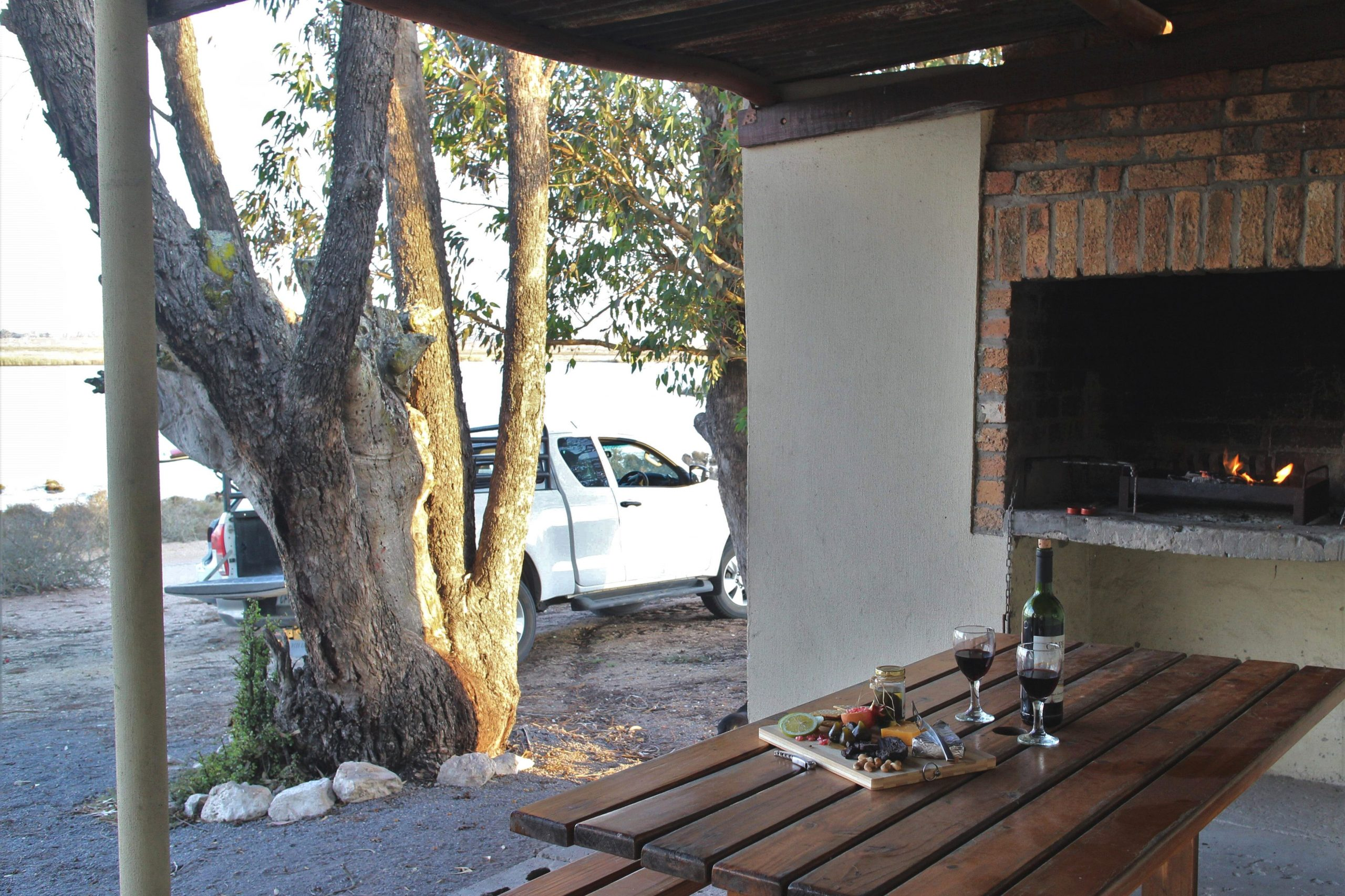 Kuifkopvisvanger - Bleshoender Cottage, self catering accommodation on the Berg River, Velddrif, West Coast 1