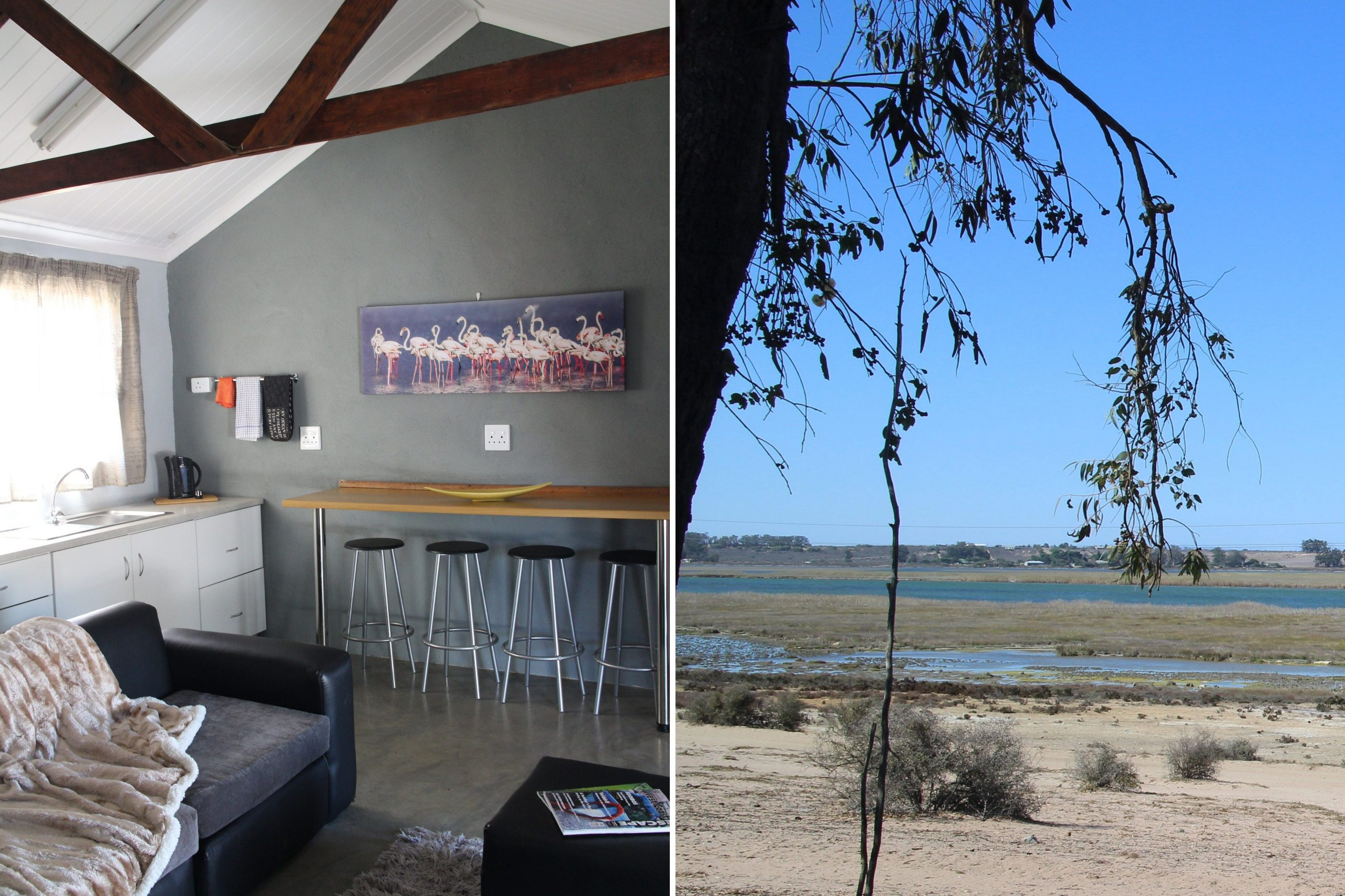 Geelvink Cottage, self catering accommodation at Kuifkopvisvanger on the Berg River in Velddrif